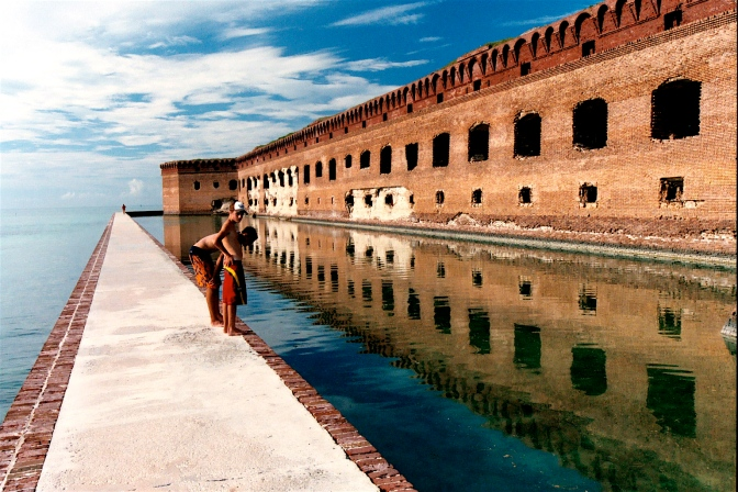 The Dry Tortugas and Fort Jefferson