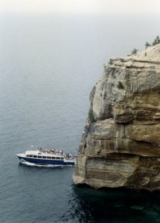 Tour Boat, Pictured Rocks