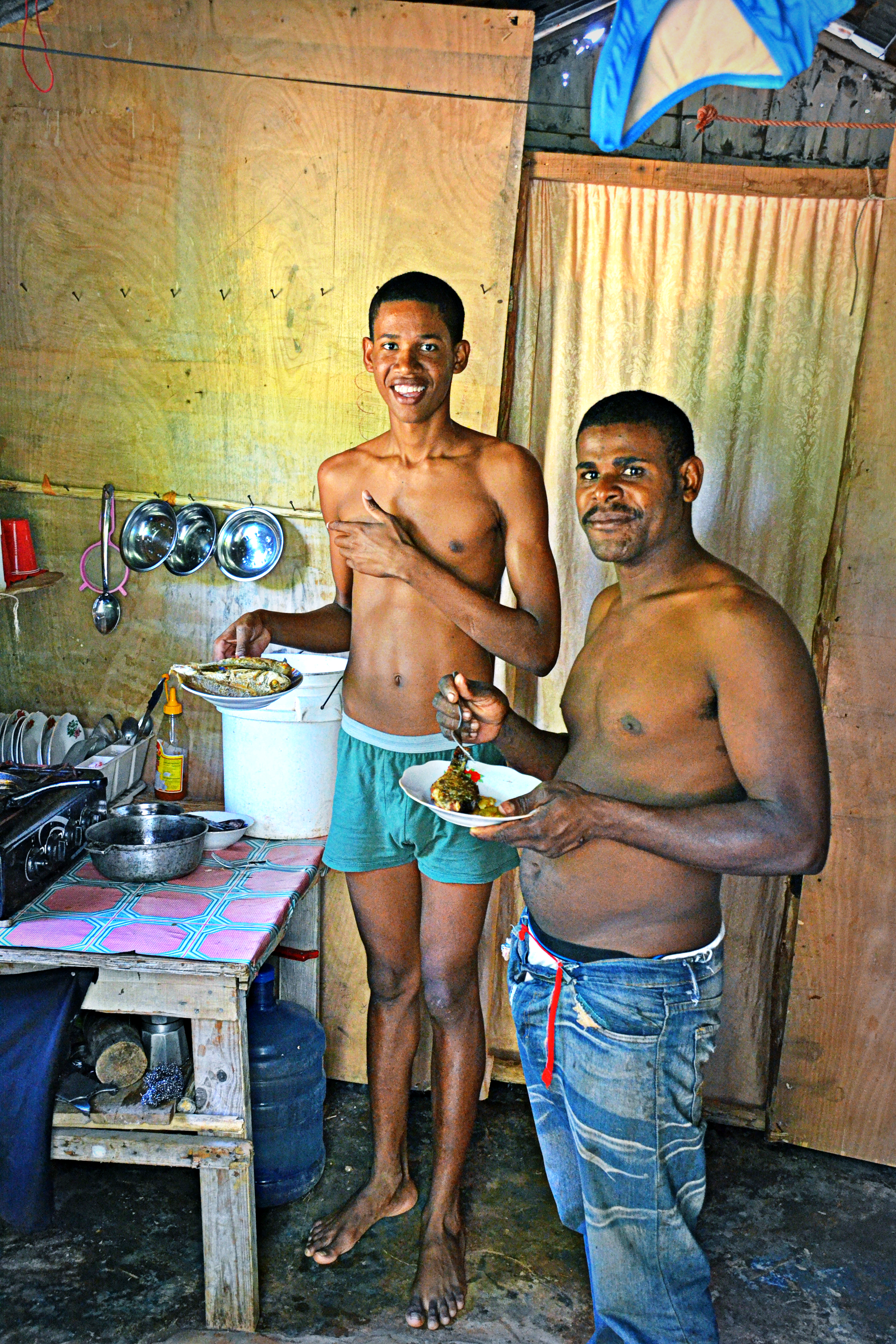 Naked dominican guys