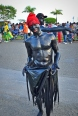 These guys were part of the Carnaval parade in Samana, Dominican Republic.