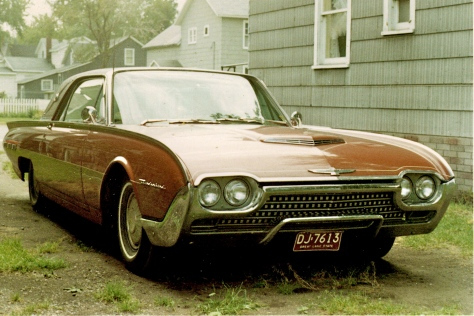 "My first car I simply called ""The T-Bird""."
