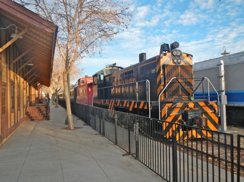 Fillmore boast a large railroad museum with train cars and locomotives from several eras.