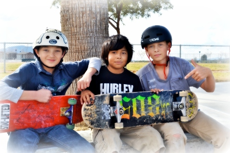 Some of the skater dudes were kind enough to pose for a minute so I could shoot come faces.