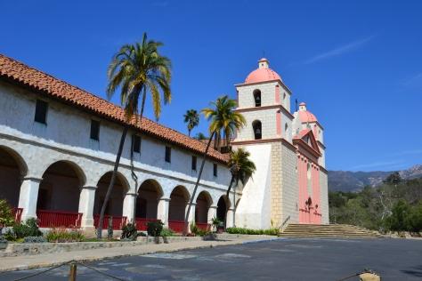 Mission Santa Barbara has 150 years of historical charm.