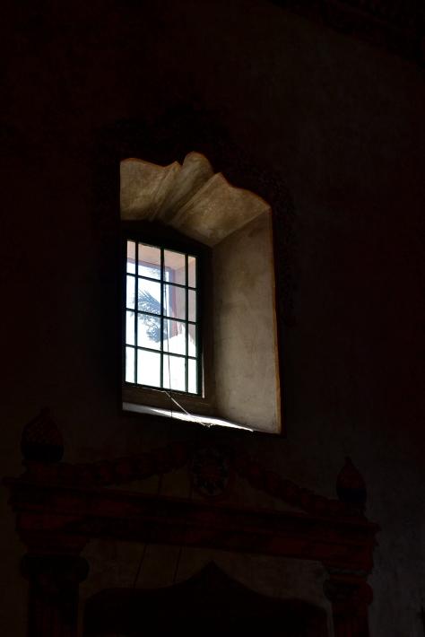 SB mission interior window