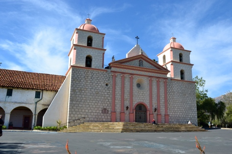 SB mission front facade