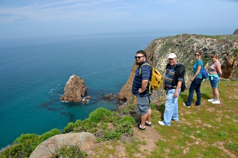 I spent a day hiking on Santa Cruz Island with my daughter, son-in-law, and his folks.