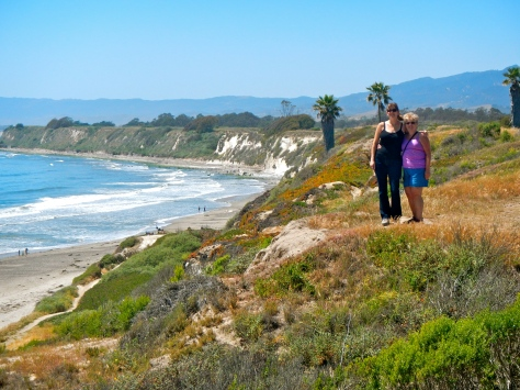 Our daughter, Wendi, took us for a hike on her running trail at Goleta, California.