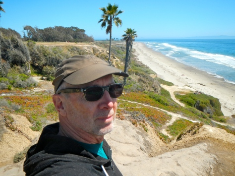 We got to hike the Pacific shore with daughter, Wendi, who lives at the University of California