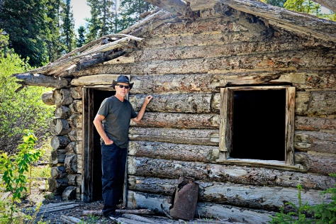 I explored the ruins of Silver City, Yukon, a once-thriving mining town of 3,000 residents.