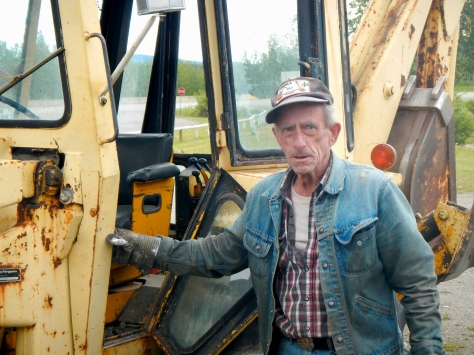 Paul has spent his life servicing the heavy equipment at the lodges along the Alcan Highway.