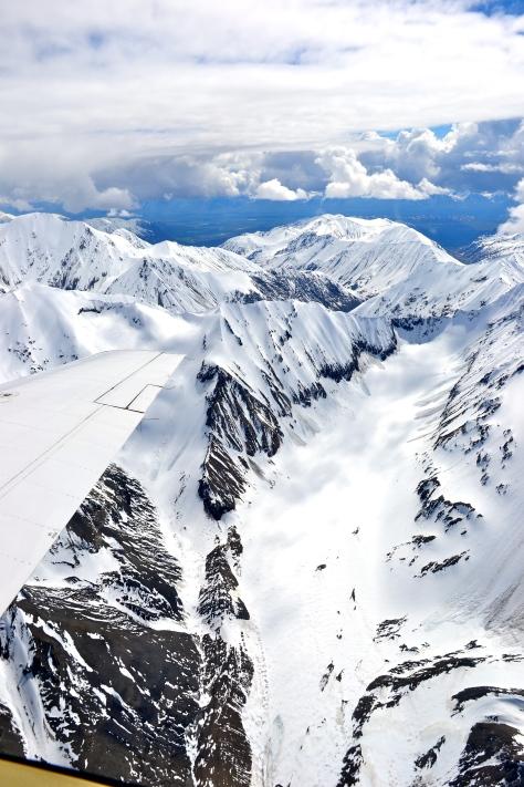 Denali glacier verticle