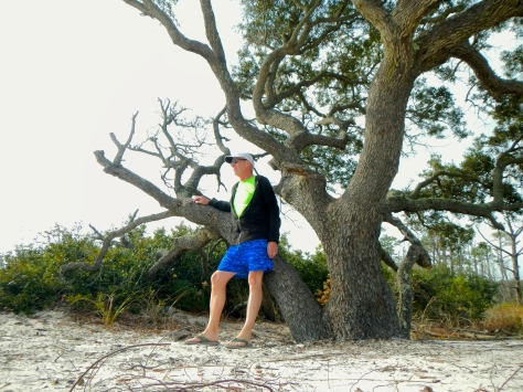 Bob at Dauphin Island beach 2502
