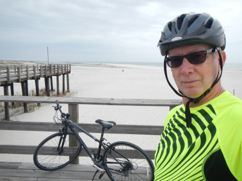 All roads -- and bike trails -- lead to the beach at Dauphin Island.