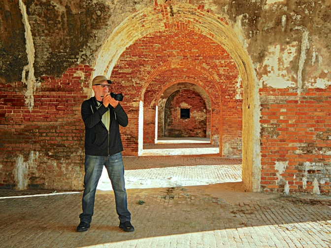 One Old Fart in Five Old Forts