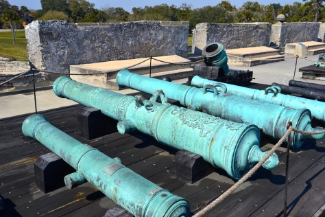 This fort had a great collection of cannons, some of the oldest ones I have seen.