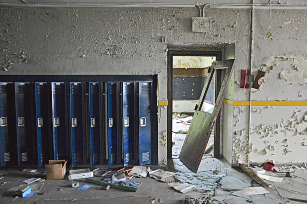 The devastation at Southwestern High has been swift and widespread.