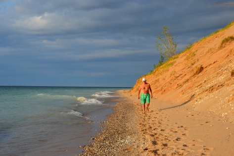 Beach walkers are not disappointed along the many miles of beautiful beaches flanked by dunes.