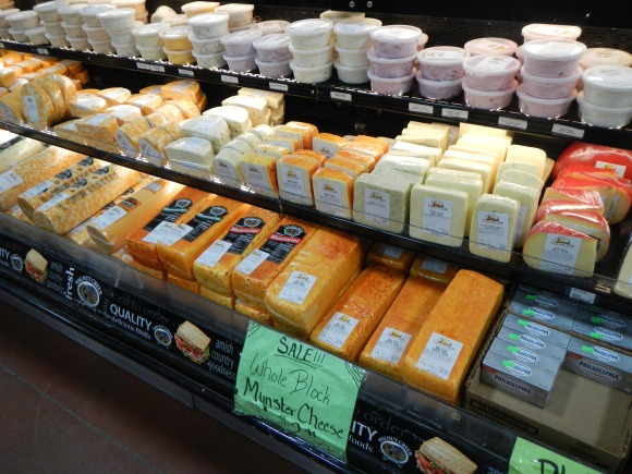 Have you ever seen 5-pound blocks of Muenster cheese at your local big box store?