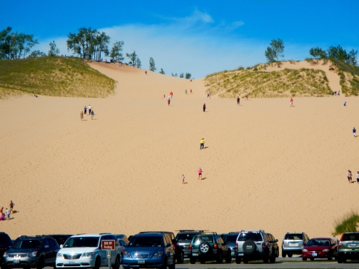 The Dune Climb is one of the most popular hikes in the park.