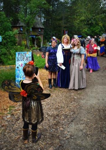 Renaissance Festival pathway edit