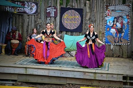 Renaissance Festival stage edit