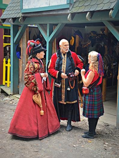 Renaissance Festival trio edit