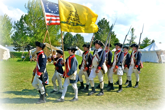 River of Time includes re-enactments from several different eras of American history.