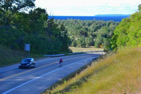 M-109 is a road trip within a road trip, a side spur from M-22 that skirts the Sleeping Bear Dunes National Lakeshore.