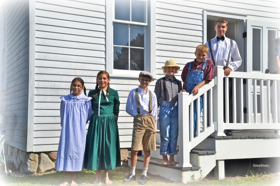 The historical school house has re-enactments as well.