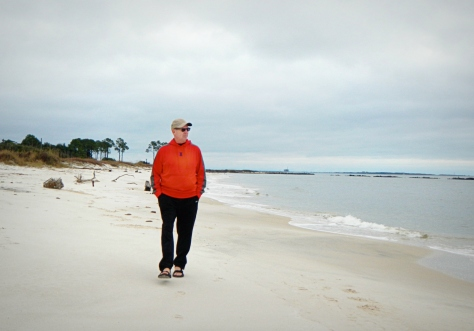 We spent last winter walking on southern beaches. Because we could.
