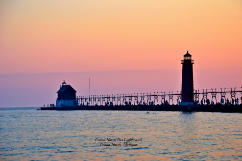 Grand Haven Lighthouses wcaption.jpg