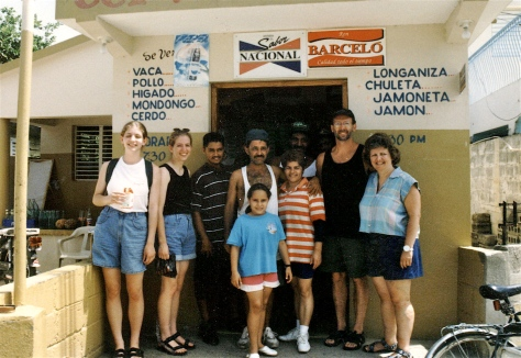 Our family shopped at the neighborhood hole-in-the-wall tienda for daily provisions in the Dominican Republic.