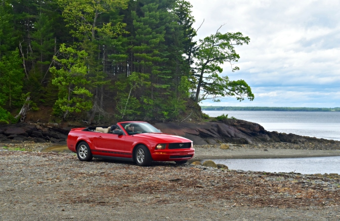 A Top Down Road Trip in New England