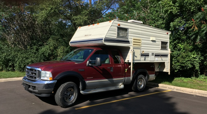 The Pickup Camper