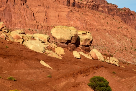 Red Rock at Capitol Reef