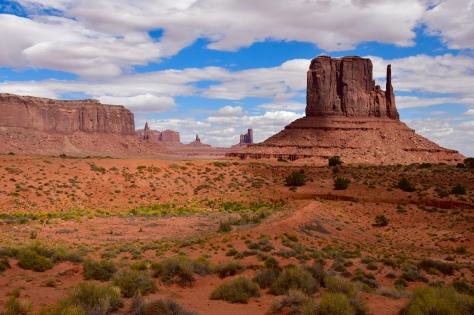 West Mitten Monument Valley