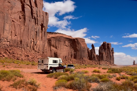 Valley Drive in Monument Valley