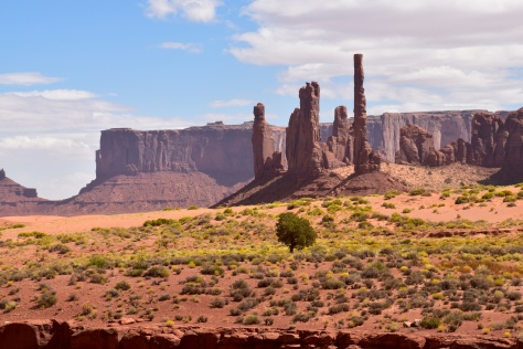 Totem Poles at Monument Valley