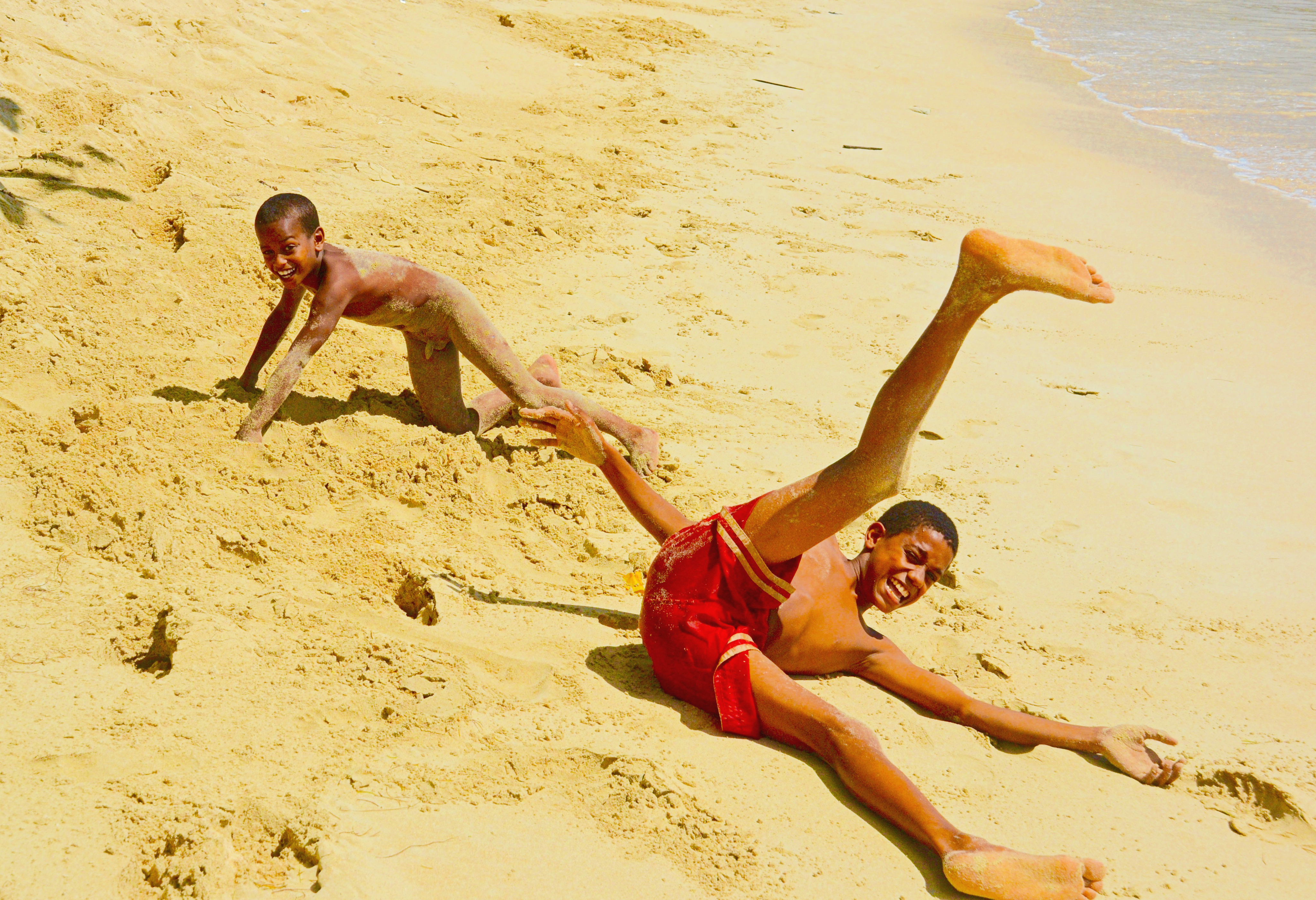 Dominican beach boys frolick fix