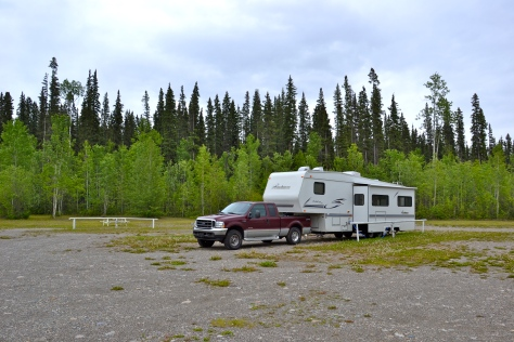 Sometimes we had a campground to ourselves and were off the grid.