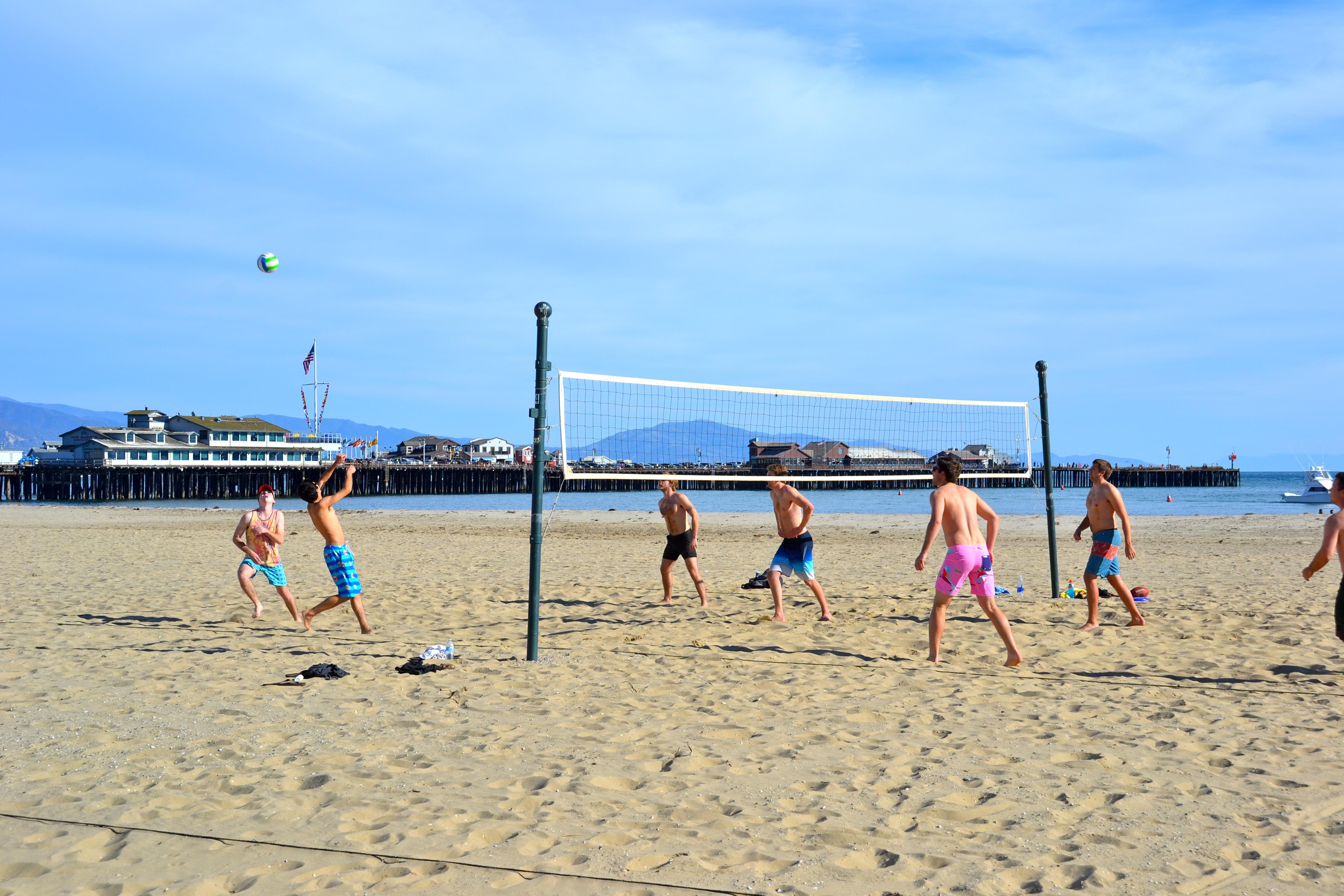 Santa Barbara Beach volleyball