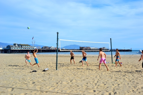 Santa Barbara Beach volleyball