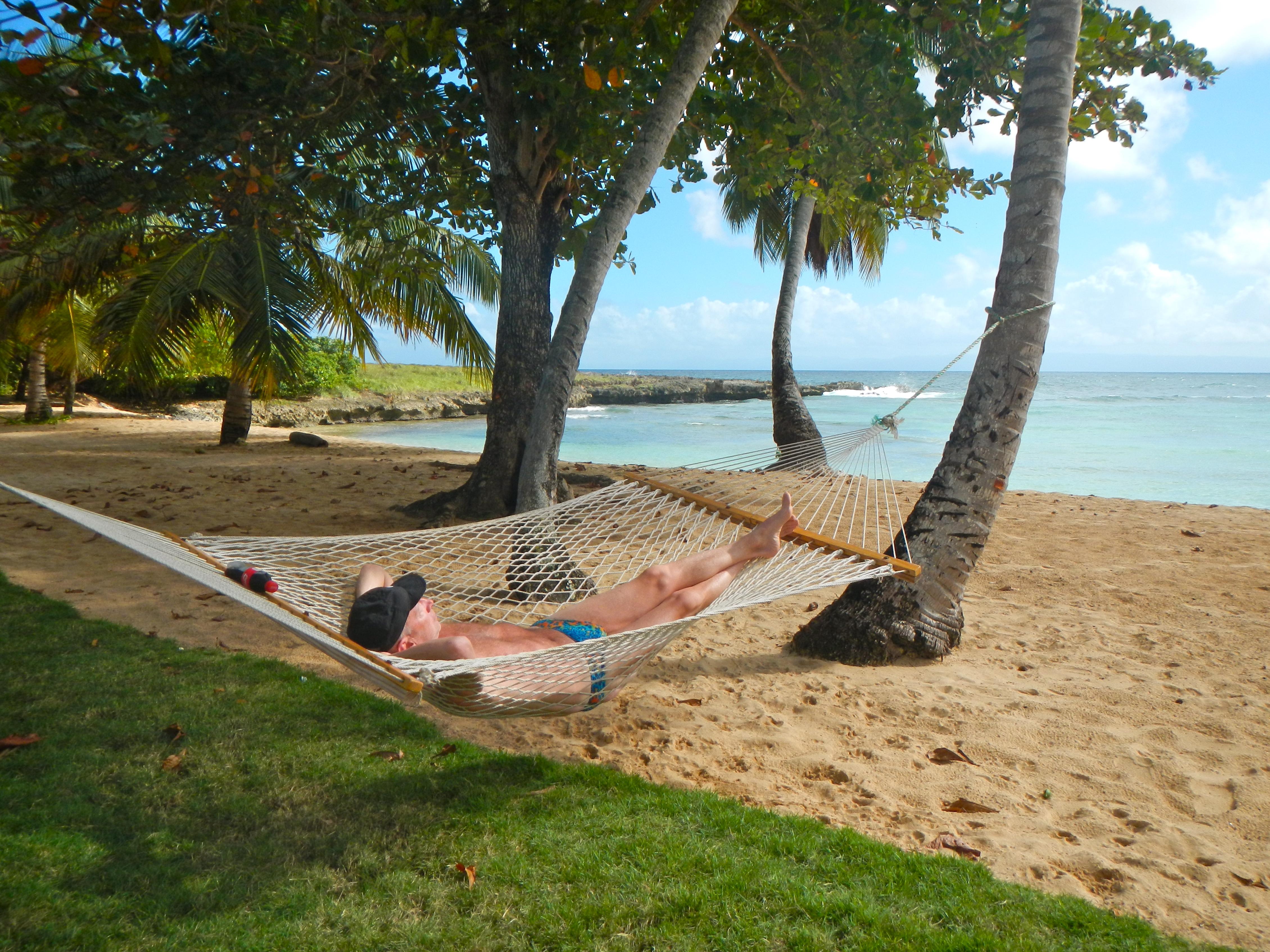 Hammock Bob at the Cove