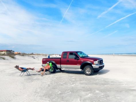 St. Augustine Beach drive
