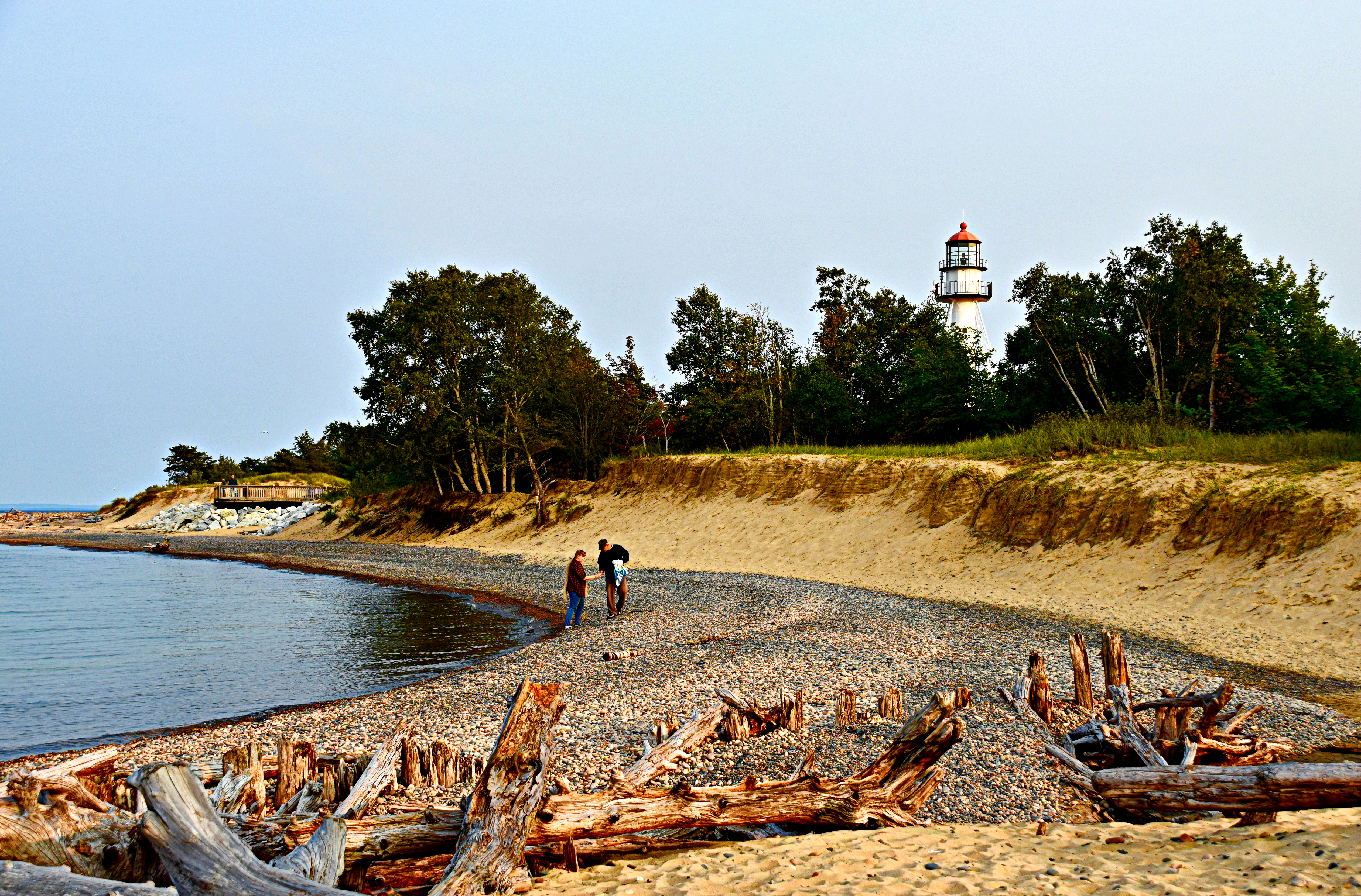 Whitefish Point HDR boost
